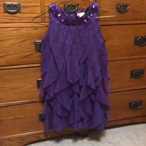 Children's Place deep purple formal dress